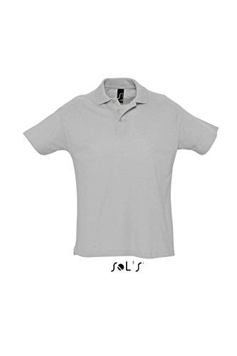 SOL´s Summer Poloshirt Grey Melange, XS