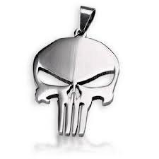 Punisher skull frank castle superhero pendant necklace steel chain punisher skull frank castle superhero pendant necklace steel chain men aloadofball Image collections