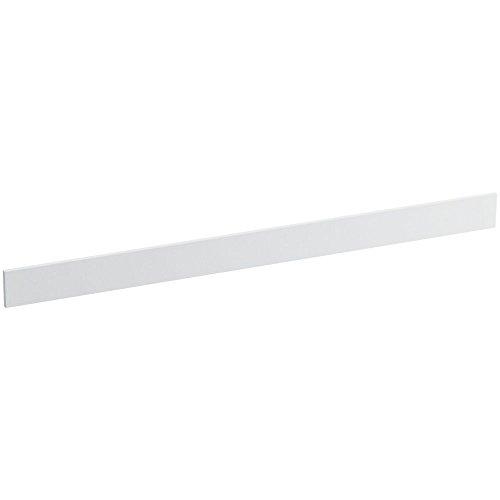 Solid/Expressions 49-Inch Backsplash Kit, White Impressions - Solid Surface Backsplash