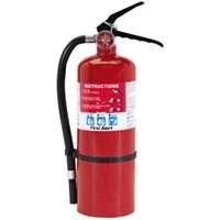 First Alert FE3A40GR Heavy Duty Plus Fire Extinguisher Red (Rechargeable Fire Extinguishers)