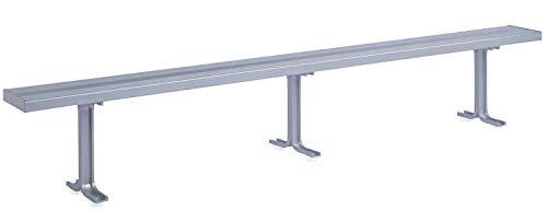 (Locker Room Bench, 3 Pedestals, 10 Ft)