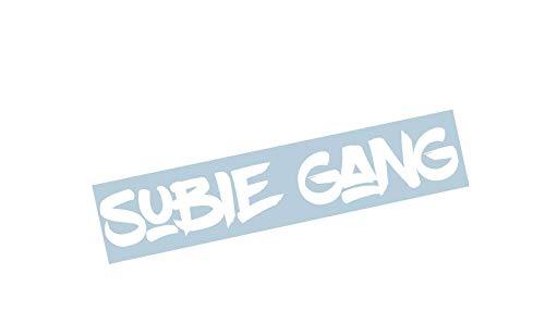Gang Sticker - Subie Gang Windshield Banner 23