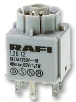 RAFI,1.20.122.001//0000,CONTACT BLOCK 1NO//1NC STANDARD