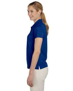 A131 adidas Women's ClimaLite Basic Pique Solid Polo Golf Shirt