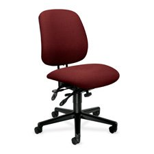 7700 Seating Series (HON 7700 Series Asynchronous Swivel/Tilt Task Chair, Seat Glide, Blue)