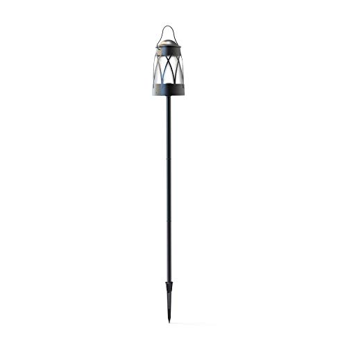 Malibu Georgetown Collection Low Voltage LED Tiki Torch - Lantern Combination LED Low Voltage Landscape Lighting 8401-5530-01