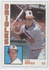 Cal Ripken Jr. (Baseball Card) 1984 Topps - [Base] #490 - Cal Ripken Memorabilia