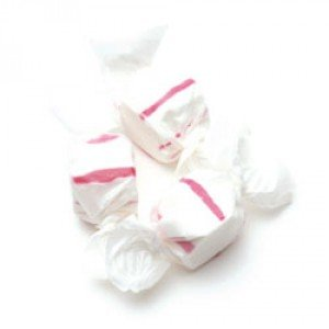 (Red & White Peppermint Salt Water Taffy 3lb by Sweets)