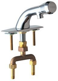Chicago Faucets 844-E12-665PSHABCP Lavatory Faucet Metering by Chicago