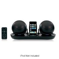 Jensen Universal Ipod Docking Station (Jensen JISS-585 Universal Docking Station for iPod with RF Wireless Speakers (Black))