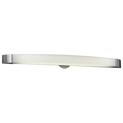 PLC Lighting 3378 SN 1 Light Vanity, Delaney Collection, Satin Nickel ()