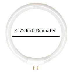 Replacement for FC12T4/865 General 45009 Circular T4 Fluorescent Tube Light Bulb - Circular Fluorescent