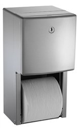 ASI 20030 | American Specialites Roval Twin Roll Toilet Tissue Dispenser
