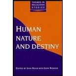 Human Nature and Destiny 9781855670952