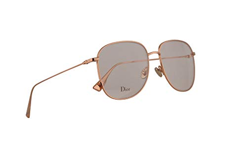 Christian Dior DiorStellaireO8 Eyeglasses 56-16-145 Gold Copper w/Demo Clear Lens DDB StellaireO8 DiorStellaireo8 DiorStellaireo 8