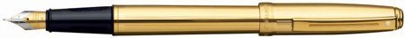 (Sheaffer Prelude Fluted Gold Fine Point Fountain Pen - SH-368-0F by Sheaffer)