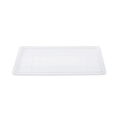 Rubbermaid Commercial FG330200CLR Lid for Food/Tote Box Polycarbonate Food Tote Box