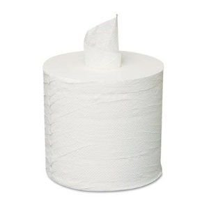 Price comparison product image GENCPULL - Center-pull Roll Towels, 2-ply, White, 8 X 10