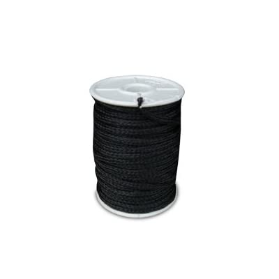 Black Poly Twine - 100' Spool - 3mm: Sports & Outdoors