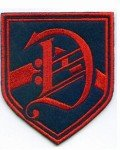 Unoffical Dalton Academy Warbler Blazer Patch Replica From Television