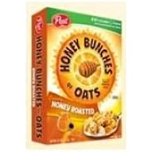 Ralston Foods Post Honey Bunches of Oats Cereal with Honey Roasted, 48 Ounce -- 4 per case.