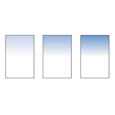 Lee Sky Blue Filter Graduated Set (100x150mm Resin) [FHSkBlS ] by Lee Filters