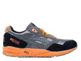 Asics Gel-Saga - Grey/Orange, 12 D US