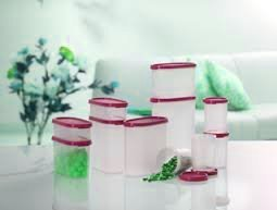 Buy Tupperware Dry Storage Set 11 Pcs Set For Entire Kitchen Red Online At Low Prices In India Amazon In