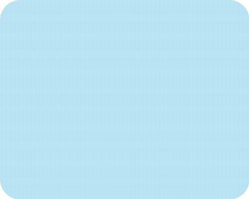 Medium Glass Worktop Saver - Pastel Blue - 40 x 30cm Pearl Glass