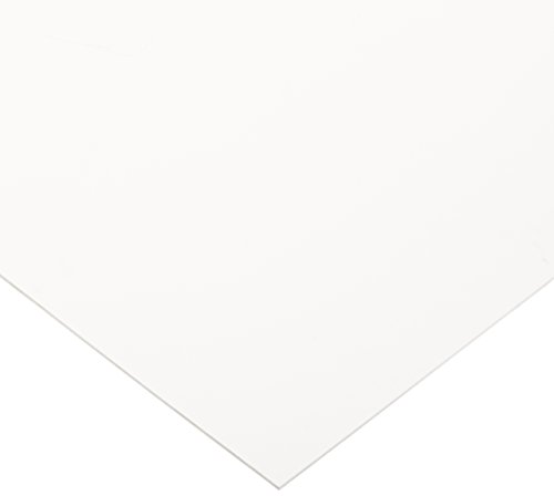 Celtec Expanded PVC Sheet, Satin Smooth Finish, 3mm Thick, 24' Length x 48' Width, White