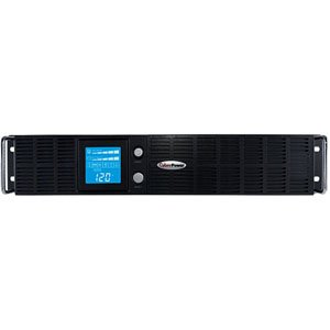 CyberPower OR2200LCDRTXL2U Smart App LCD UPS System, 2190VA/1650W, 8 Outlets, AVR, 2U Rack/Tower by CyberPower