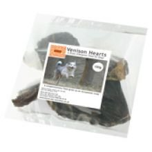 Burns Dog Treats Venison Hearts 100g