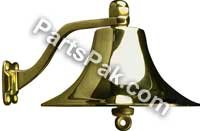 Sea Dog 455720 BRASS BELL-8 INCH BRASS BELL