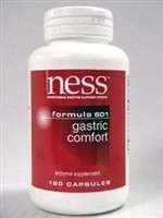 NESS Enzymes Gastric Comfort formula #601 180 caps