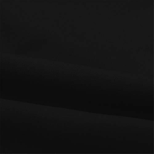 BAOHOKE Summer Fashion Casual Sleeveless Crop Solid Bandage Tops,Vest Sling,t Shirt Tops Blouse v Neck (Black,XXL) by BAOHOKE (Image #5)