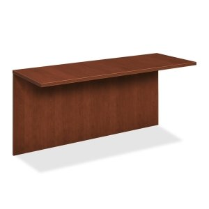 The HON COMPANY Modular Top/Back Components Tri-Oval Edge Desk, 63 by 24 by 28-3/8-Inch, Henna Cherry
