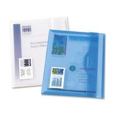 (Translucent Document Wallets, Matte Finish, 12/BX, CL, Sold as 1 Box, 12 Each per Box )
