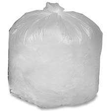 Genuine Joe : Can Liners,56 Gal,14mic,43''x46'',200/CT,Translucent -:- Sold as 2 Packs of - 200 - / - Total of 400 Each