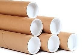 Masterline Postal Tubes - Strong Premium Quality - Size: A2 50mm x 450mm - Amount: 25 tubes