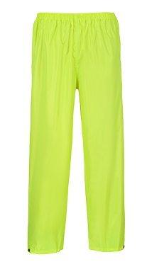 Portwest Classic Rain Trouser (XXXX-Large, Yellow)