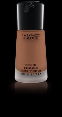 Satin Finish Mineralize Mac (MAC Mineralize Moisture SPF 15 Foundation Broad Spectrum NC50)