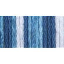 Bulk Buy: Lily Sugar'n Cream Yarn Stripes Super Size (6-Pack) Tie Dye 102023-23114