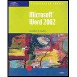 Microsoft Word 2002, Duffy, Jennifer, 0619018992