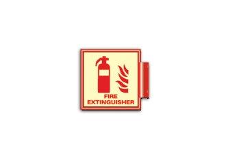 Amazon.com: Señal cuadrada de extintor de incendios ...