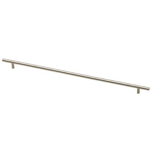 Liberty P02122-SS-C Bauhaus 18-8/9 in. (480mm) Kitchen Cabinet Hardware Drawer Handle Bar Pull, Stainless - Pull Bauhaus Bar