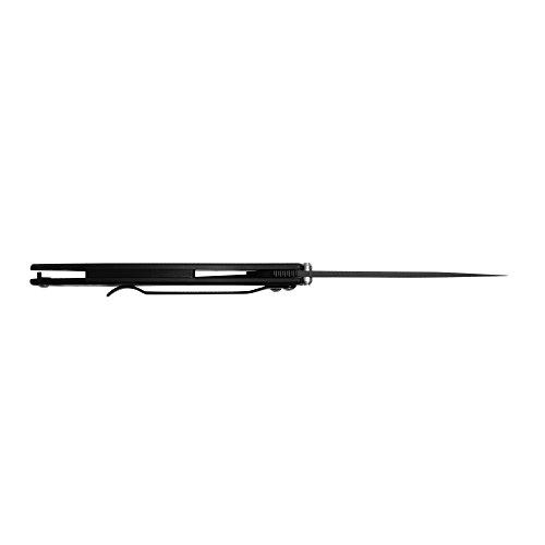 "Kershaw Leek, Black Folding Knife (1660CKT); 3"" 14C28N Sandvik Steel Blade, 410 Stainless Steel Handle, Both DLC-Coated; SpeedSafe Assisted Opening, Liner Lock, Tip Lock, Reversible Pocketclip; 3 OZ. by Kershaw (Image #6)"
