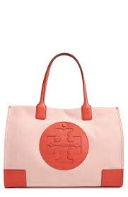 8f3c2149a80 Image Unavailable. Image not available for. Color  Tory Burch Women s Ella Canvas  Tote ...