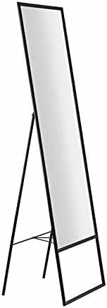 Glass Floor Mirror in Black Full Length Mirror Mirror Full Length Floor Mirror Wall Mirror Full Length Giant Mirror Gold Full Length Mirror Gold Mirror Full Length Black Full Length Mirror