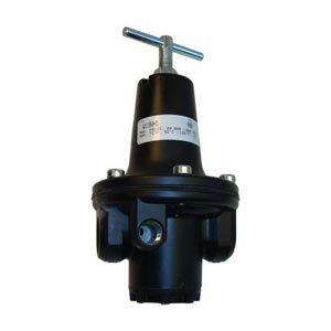 Interstate Pneumatics - W1180HD 1/2'' Large W/''T'' Handle Regulator 0-120 PSI (Made in USA)