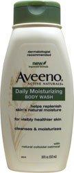 Aveeno actif hydratant Naturals Body Wash quotidien d'avoine naturelle, 18 onces